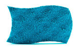 Abstract - Blue Sponge — Stock Photo