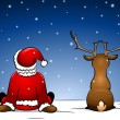 Santa and Rudolph -  