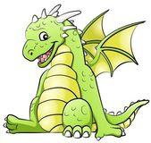 Little dragon — Stock Vector
