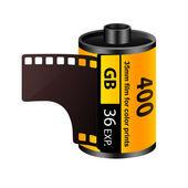 35mm film roll — Stock Photo
