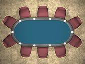 Poker table — Photo