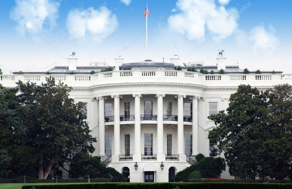 The White House, Washington DC  Stock Photo #9851571