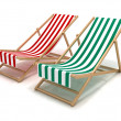 Beach chairs — Stock Photo #9878208