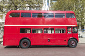 London famous red buses — Stock Photo