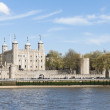 Stock Photo: LONDON, UK - APRIL 30: The Tower of London seen from the Thames