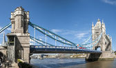 LONDON, UK - APRIL 30: Panoramic shot of Tower Bridge. April 30, — Stock Photo