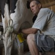 Dairy Farmer — Stock Photo