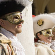 Stock Photo: Venice Carnival Performers