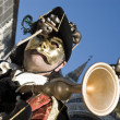 Venice Carnival Performers - Stock Photo