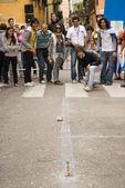 Tocati, Verona, Street Game — Stock Photo