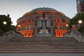 Royal Albert Hall at Dusk — Stock Photo