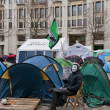 Tent City outside Saint Pauls Cathedral, London, 2012 — Stock Photo