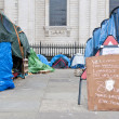 Tent City outside Saint Pauls Cathedral, London, 2012 — Stock Photo #9871058