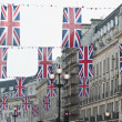 Royal Wedding 2011 Buntings — Stock Photo