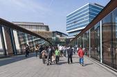 Eingang zum westfields stratford-einkaufszentrum in london — Stockfoto