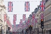 Royal Wedding 2011 Buntings — Stock Photo