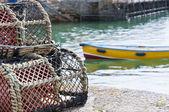 Krabben-käfige — Stockfoto