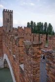 Castelvecchio, Verona, Italy — Stock Photo