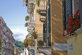 Balconies in Verona, Italy. — Stock Photo