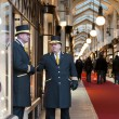 Beadles at Burlington Arcade in London — Stock Photo