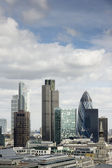 City of London, its financial district — Stock Photo