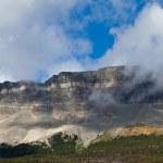 Rock Face in Glacier National Park — Stock Photo