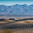 Death Valley Sand Dunes — Stock Photo