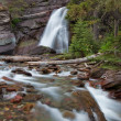 Stock Photo: Stream in Glacier National Park