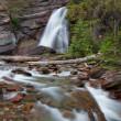 Stream in Glacier National Park — Stock Photo
