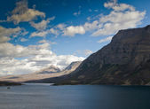 St Mary Lake View in Glacier National Park — Stock Photo