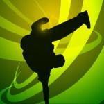 Breakdance — Stock Vector