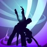Dancers — Stock Vector