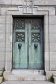 Mausoleum door — Stock Photo