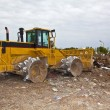 Landfill Trash Mover — Foto Stock