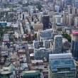 Stock Photo: City view from up High vertical