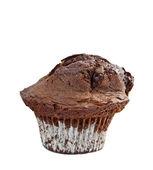 Muffin de chocolate duplo chocolate — Foto Stock