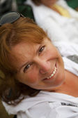 Middle Aged happy Woman — Stock Photo