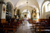 Altar of the saint Catherine church — Foto Stock