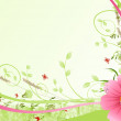 Flower background with pink hip color — Stock Photo #10218721