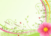Flower background with pink hip color — Stock Photo