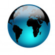 World globe — Stock Photo #9785285