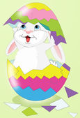 Illustration of Easter bunny — Stock Photo