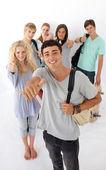 青少年经历高中 — 图库照片