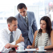 Business team working together — Stock Photo #10280312
