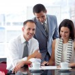 Business working together — Stock Photo #10280324