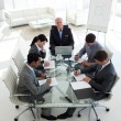 Business showing diversity in a meeting — Stock Photo #10280691