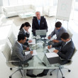 Business showing diversity in a meeting — Stock Photo