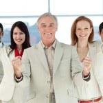 Successful international business — Stock Photo