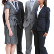 International young business standing — Stock Photo