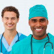 Portrait of two sexy doctors — Stock Photo #10282769